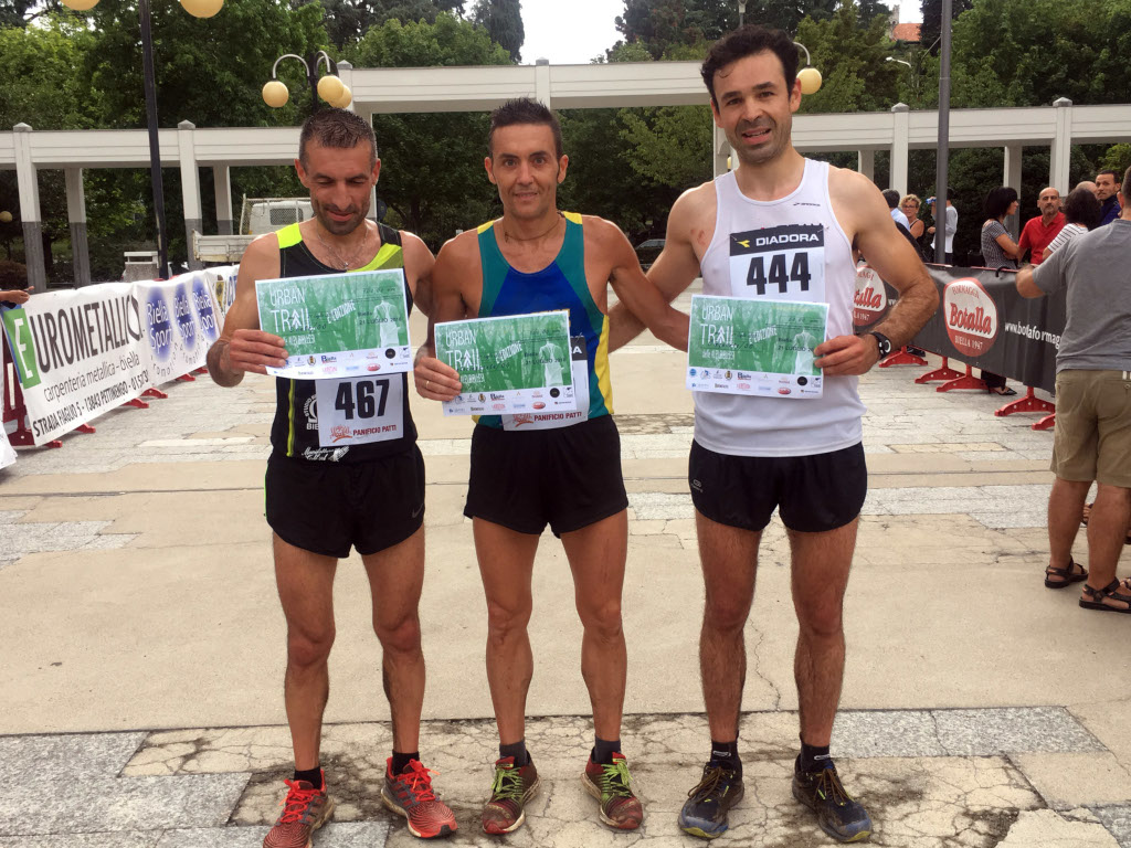 2018 Urban Trail Podio maschile 21 Km